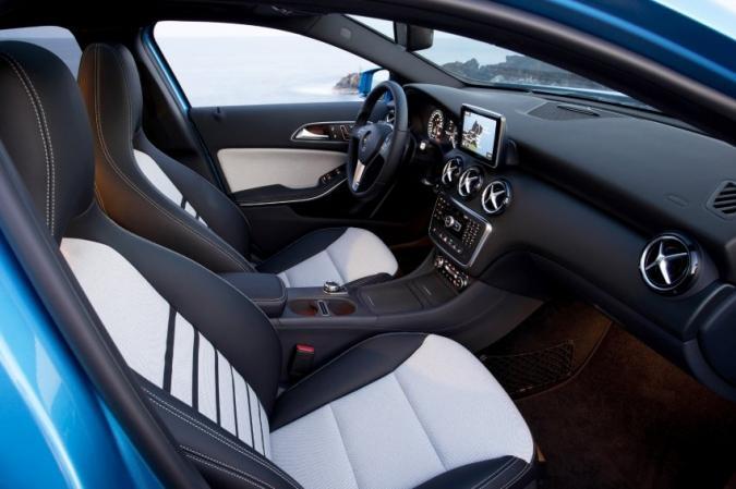 Mercedes Benz A-Class interiors leaked