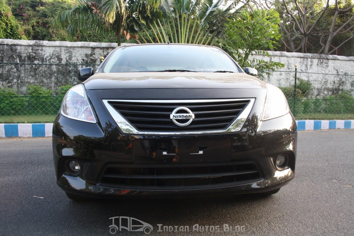 Nissan Sunny diesel front fascia