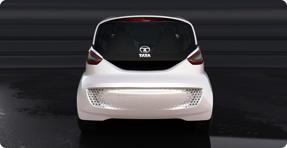 Tata Megapixel Concept rear fascia