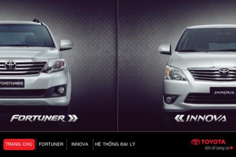 Toyota Fortuner facelift Innova facelift iPhone app