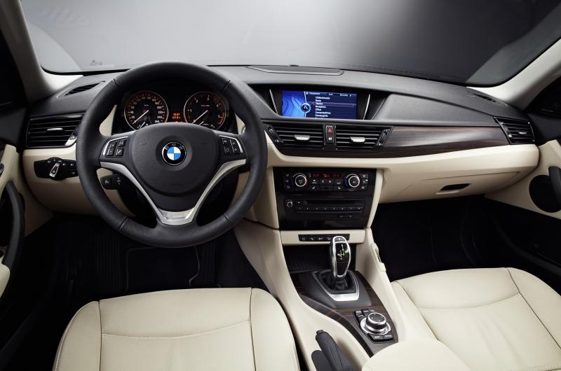 2012 BMW X1 Facelift interiors