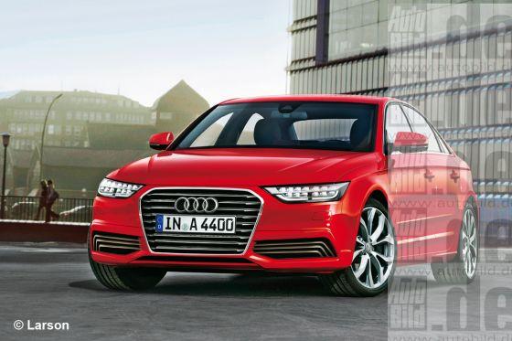 2014 Audi A4 AutoBild rendering