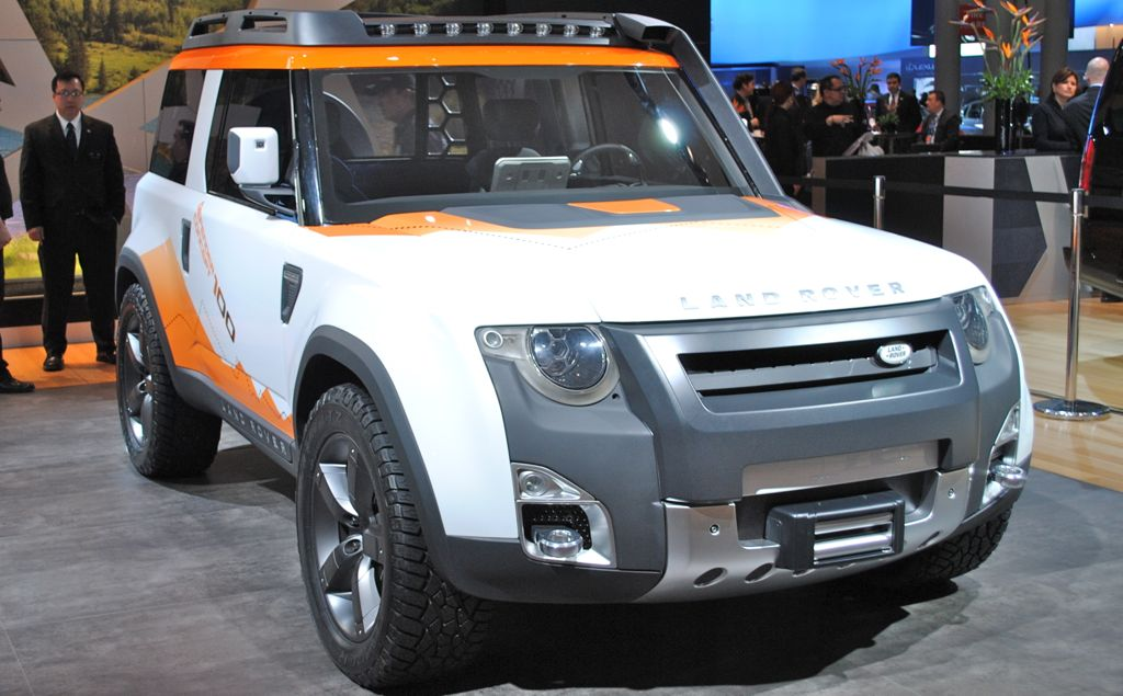 Land Rover DC100 Expedition concept front