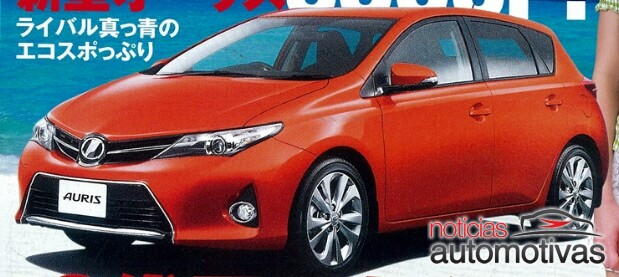 2013 Toyota Auris front three quarters
