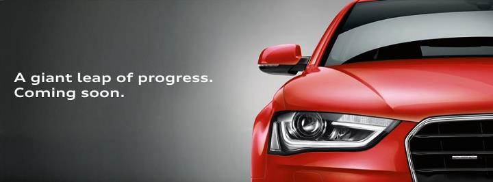 Audi A4 facelift front fascia