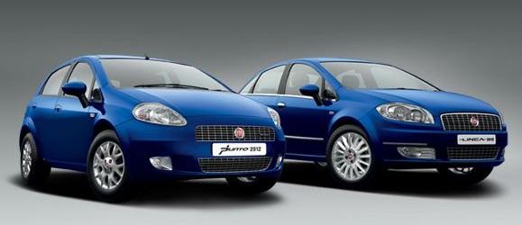 Fiat Linea 2012 Fiat Punto 2012