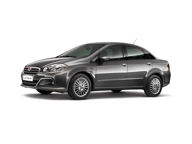Fiat Linea facelift side profile