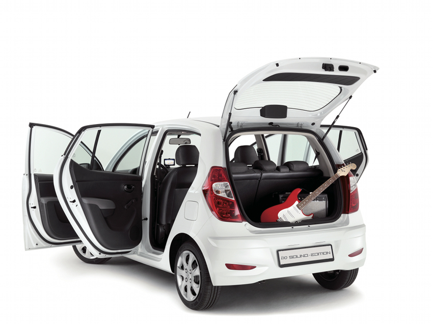 Hyundai i10 Sound Edition doors ajar