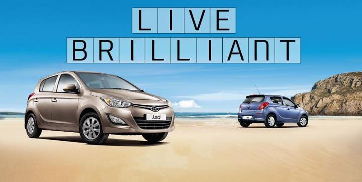 Hyundai i20 facelift Live Brilliant campaign