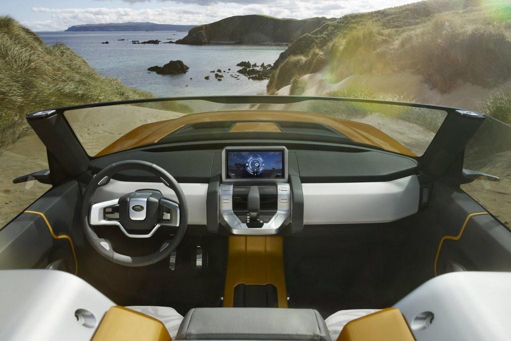 Land Rover Defender Concept 100 dashboard