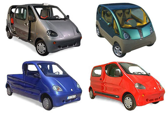 MDI proposed cars that run on compressed air
