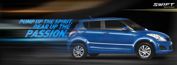 Maruti Suzuki Swift pump up the passion