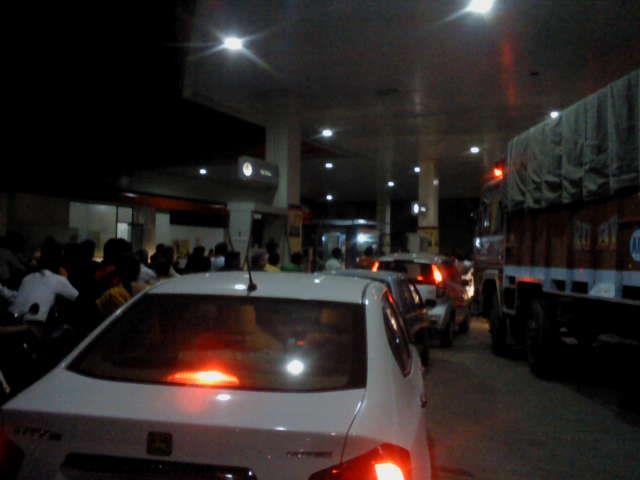Petrol station Auragabad Maharashtra