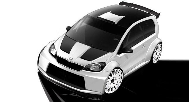 Skoda Citigo Rally Car Study