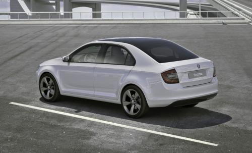 Skoda Mission L Concept that previews the European Skoda Rapid