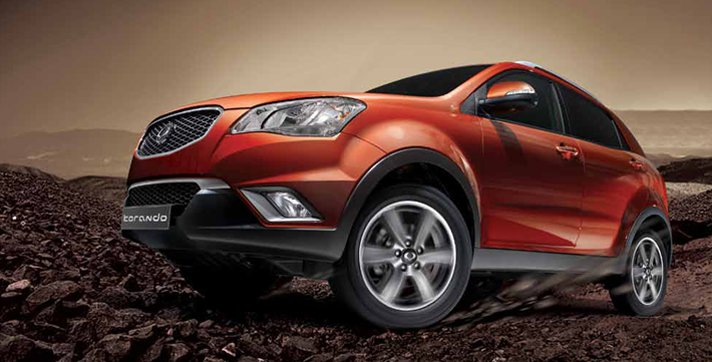 Ssangyong Korando in the Australian market