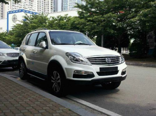 ssangyong rexton w ready to hit the showroom. Black Bedroom Furniture Sets. Home Design Ideas