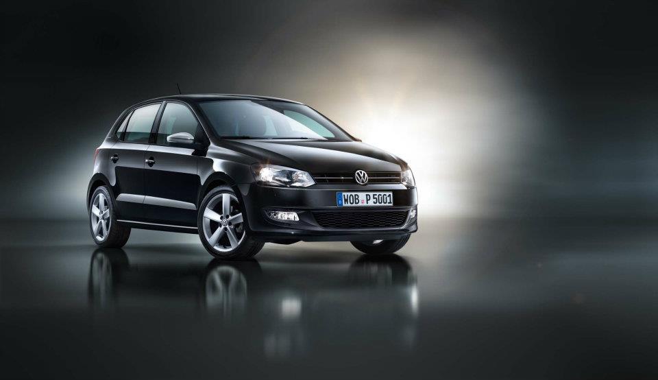 Volkswagen Polo Black Edition front three-quarters