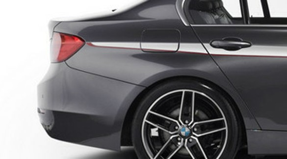 2014 BMW 1 Series sedan leaked rear