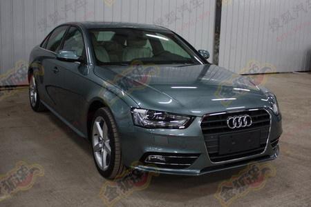 Audi A4L front