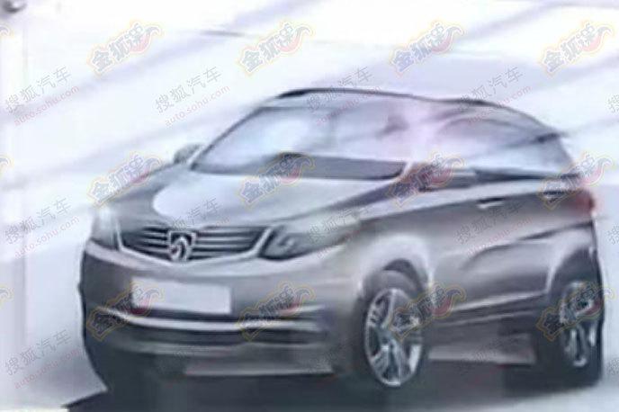Baojun Wuling mini SUV sketch