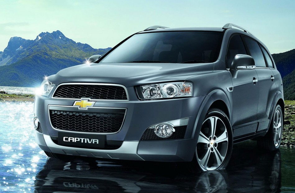 Chevrolet Captiva facelift Malaysia front-end