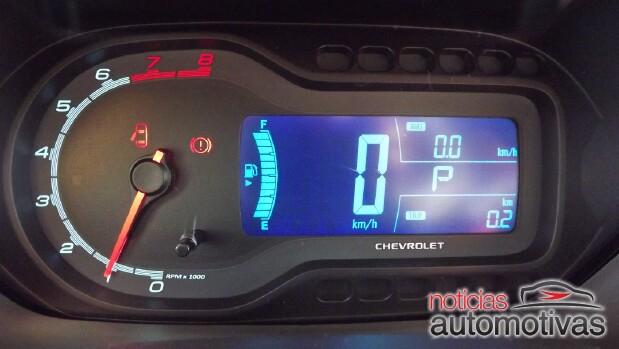 Chevrolet Spin digital combi meter
