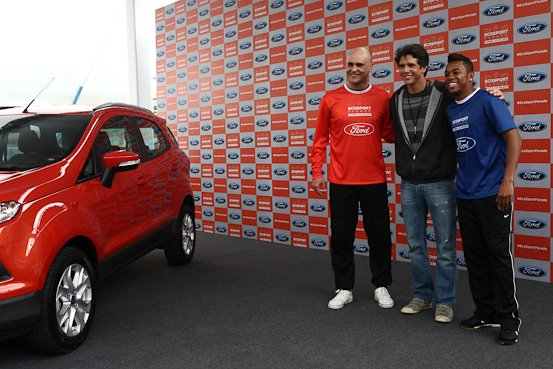 Ford EcoSport plays football in South America (2)