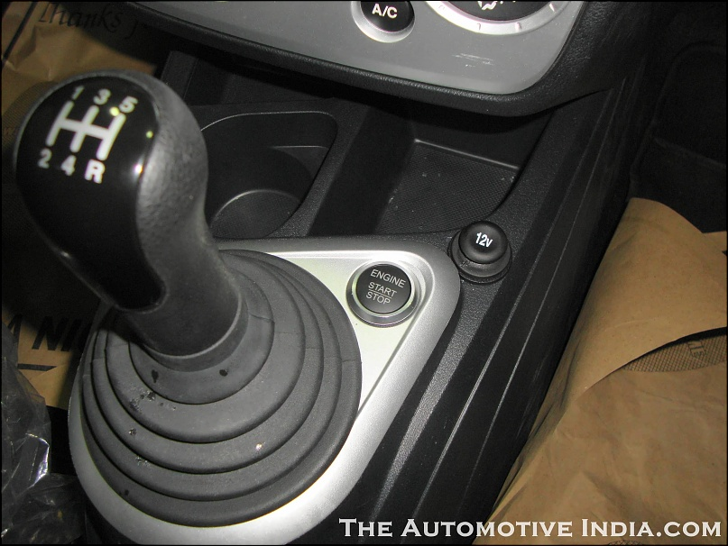 Ford Figo Start-Stop Button or Push button start