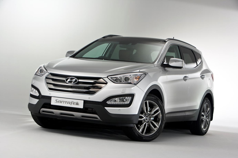 Hyundai Santa Fe UK market