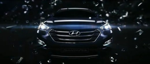 Hyundai Storm Edge Design Santa Fe 2013 video screen capture