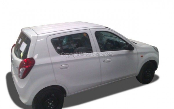Maruti Suzuki Alto 800 rear fascia
