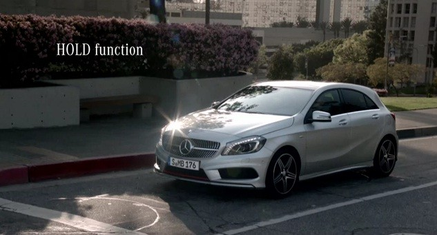 Mercedes Benz A-Class Hold function