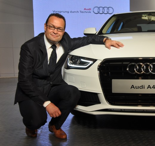 Mr Michael Perschke Audi India CEO