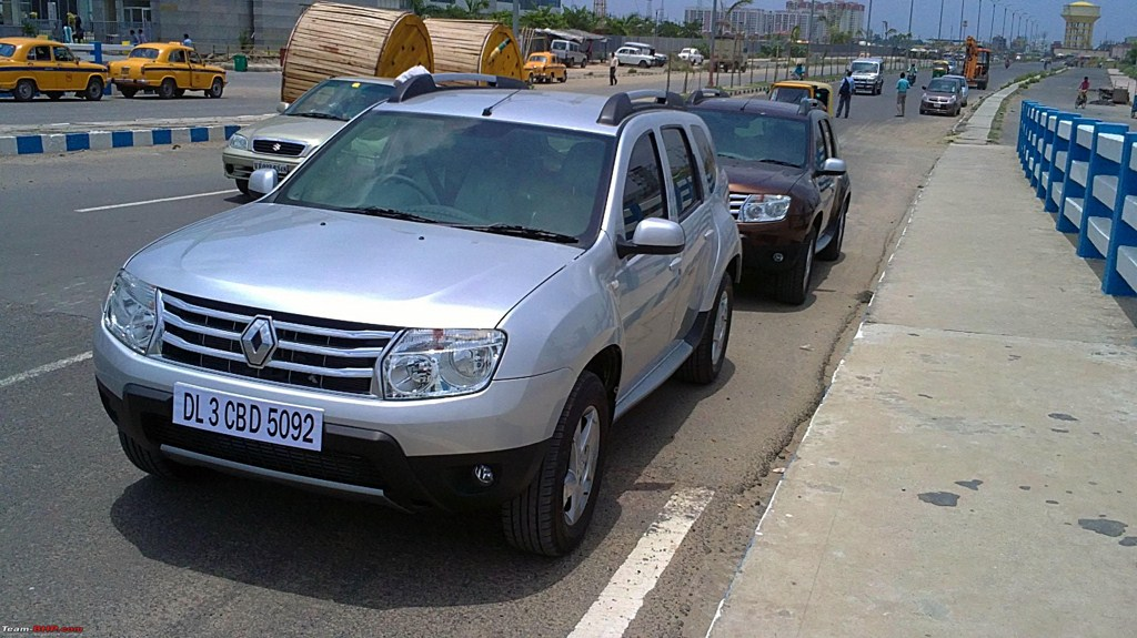 Renault Duster India front