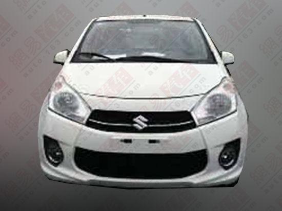 Suzuki Alto or A-Star facelift China