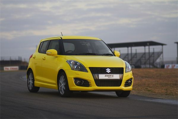 Suzuki Swift Sport South Africa front view