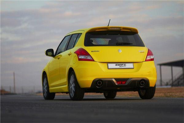 Suzuki Swift Sport South Africa rear