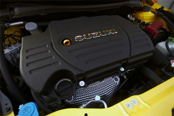 Suzuki Swift Sport South Africa 1.6L engine