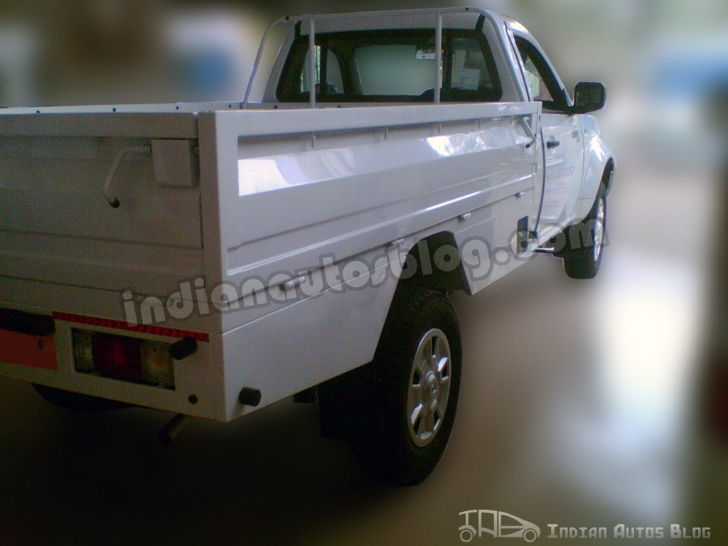 Tata Xenon Pickup rear, loading bay