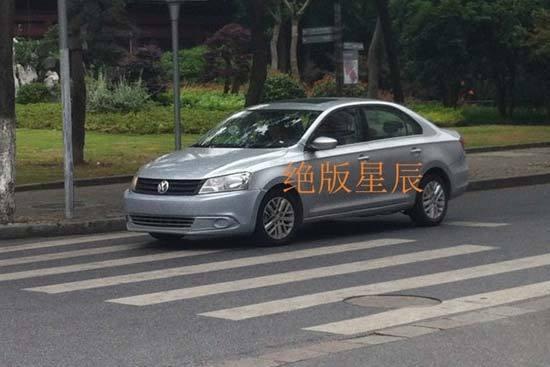 VW Santana 2013 China front
