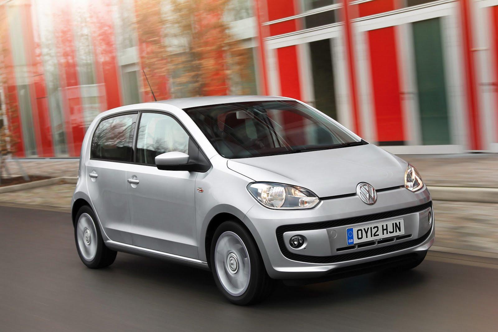 Volkswagen Up 5-door UK market frontfront