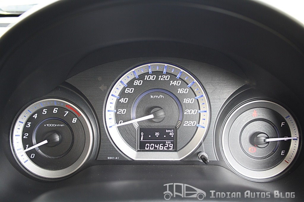 2012 Honda City speed dials