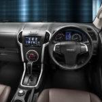 2012 Isuzu D-MAX interiors