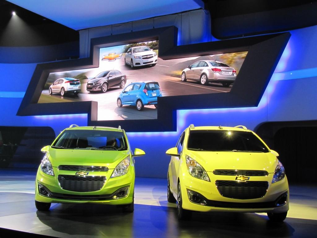 2013 Chevrolet Spark US market