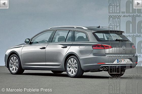 2014 Volkswagen Passat station wagon