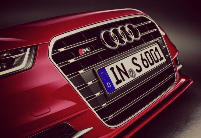 Audi S6 grille