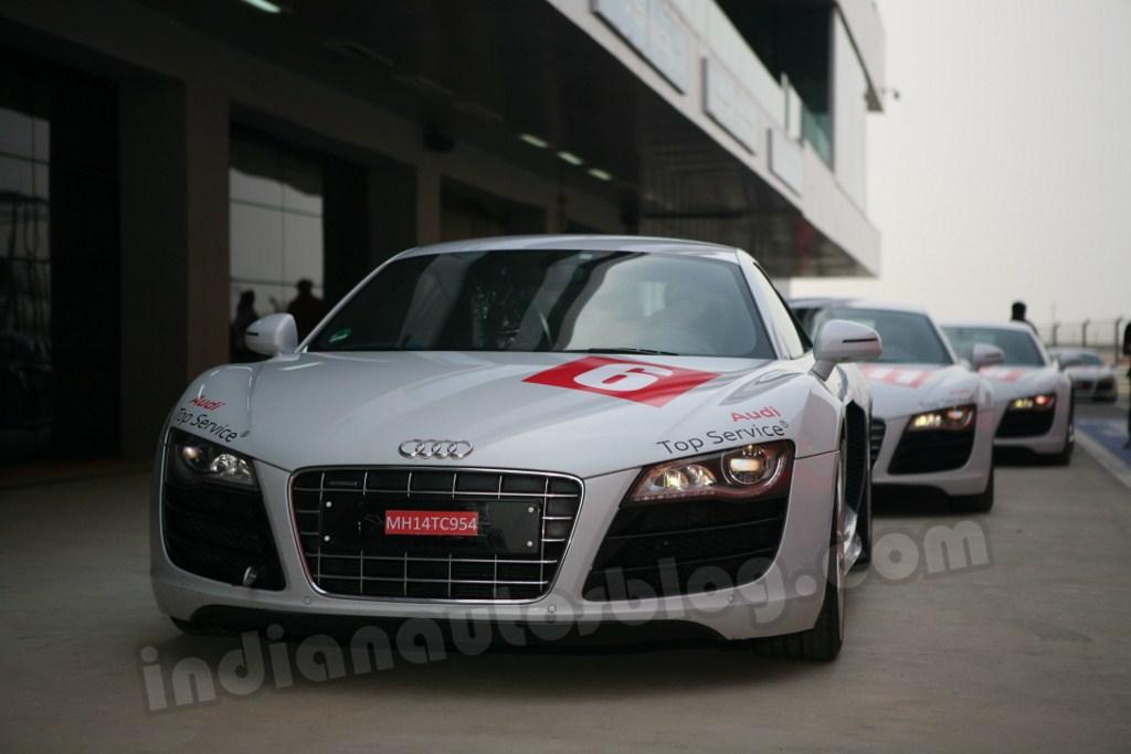 Audi Sports Car Experience Buddh International Circuit 2012