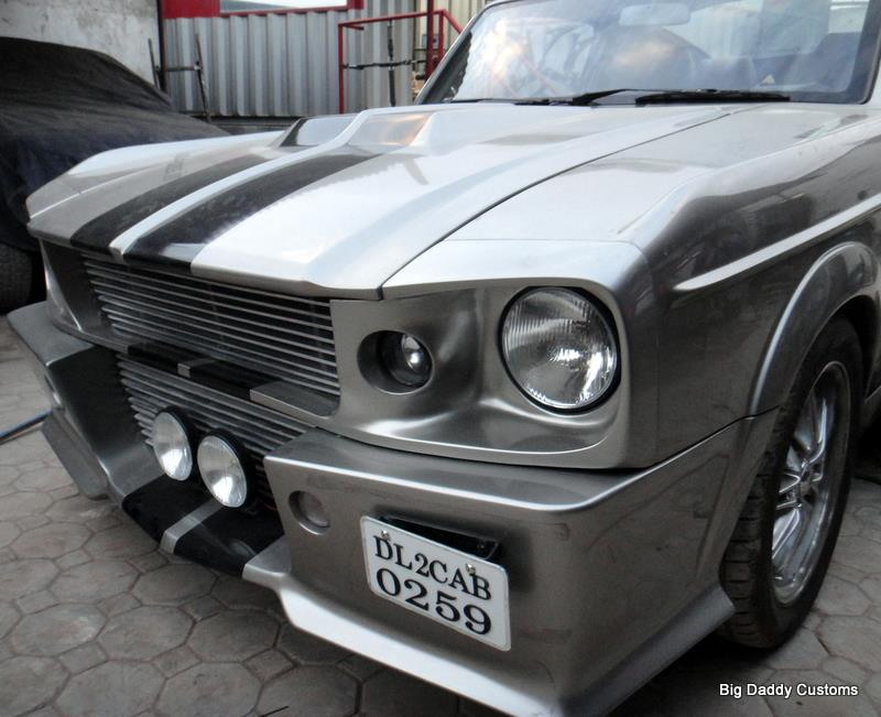 Ford Mustang Eleanor replica front