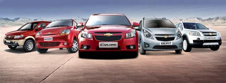 GM India portfolio in 2011